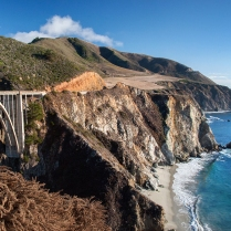 Bixby Bridge, Big Sur, CA (October)
