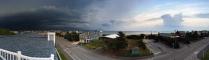 Storm approaching over Bethany Beach, DE (June)