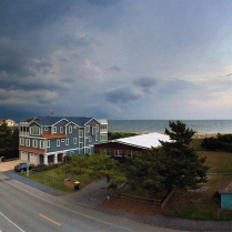Storm approaching over Bethany Beach, DE (June)