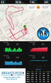 Race I'm Proudest of: Brian's Run (December)