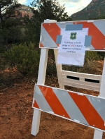 200 Devils Bridge Trail Closed