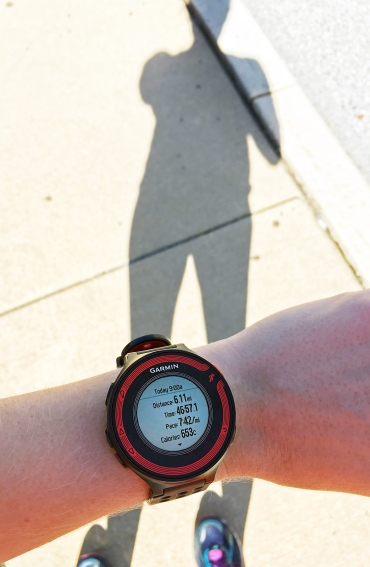 Me, my shadow, and my shiny new 10K PR!!!