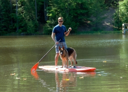 SUP with your PUP!