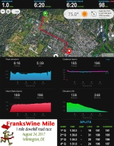 Downhill Mile Stats_