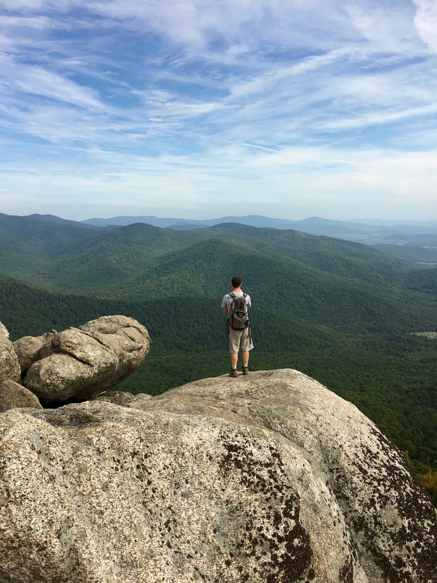 Climbing Old Rag Mountain