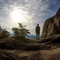 Matt on Old Rag