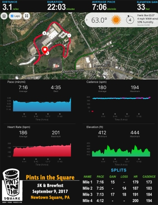 Pints in the Square 5K Stats 17_