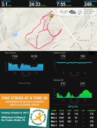 One Stride at a Time 5K Stats_