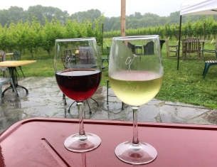 Grace Winery in the Rain