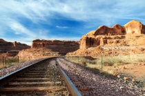 Potash Train Tracks (Corona Trail)