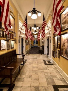 Congress Hall history hallway