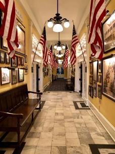 Congress Hall history hallway