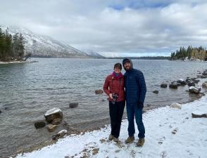 Annie & Matt Jenny Lake